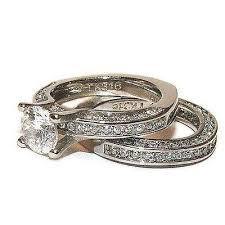 titanium wedding ring sets for him and his hers wedding ring set stainless steel titanium wedding