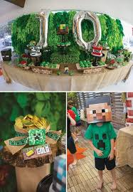 Minecraft Party Centerpieces by 22 Best Aniversário Minecraft Images On Pinterest Birthday