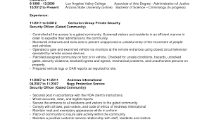 andrews international security guard resume templates microsoft