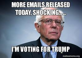 Shocking Meme - more emails released today shocking i m voting for trump