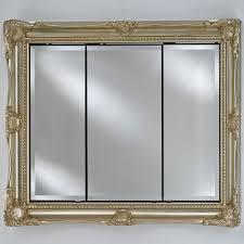 Old Fashioned Picture Frames Afina Vanderbilt Large Triple Door Recessed Royale Medicine
