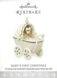 hallmark 2017 baby s ornament ebay