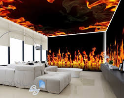 wall murals fire flame flame of fire vinyl wall mural pixers we live to change