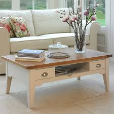 Coffee Table With Storage Uk - padstow painted white coffee table with storage costco uk