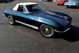 1966 corvette roadster 1966 chevrolet corvette laguna blue 327 350 roadster