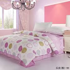 Girls King Size Bedding by High Quality 100 Nature Cotton Donut Pattern Girls King Size