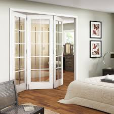 Accordion Doors Interior Home Depot Excellent Interior Room Design With Stunning Etched Glass French