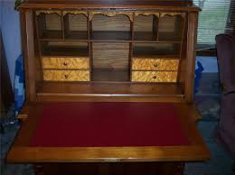 hand carved drop front secretary desk delightful concept to drop