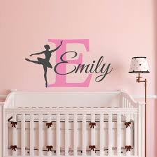 Baby Monogram Wall Decor 50 Best Personalized Decals Images On Pinterest Name Wall Decals