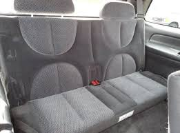 dodge durango 3rd row seat 1998 2000 dodge durango 3rd row bench seat with adjustable