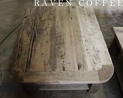 Coffee Table Rounded Edges Hd Threshing Reclaimed Wood Furniture Page 41