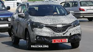 renault alliance tan spyshots first sighting of new renault c segment suv is this