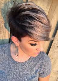 haircuts long in front cropped in back 100 short hairstyles for women pixie bob undercut hair