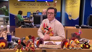 stephen colbert s thanksgiving turkey tips la times