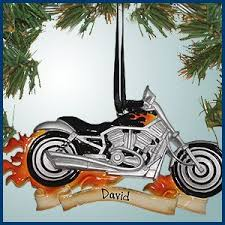 ornament motorcycle
