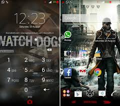 clock themes for android mobile xperia watch dogs and gta v theme