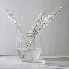 Large White Vases Vases Small U0026 Large Glass Vases The White Company Uk