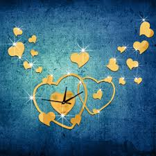 Modern Bedroom Wall Clocks Compare Prices On Heart Wall Clock Online Shopping Buy Low Price