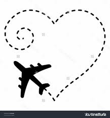 simple airplane drawing cute simple airplane line art free clip