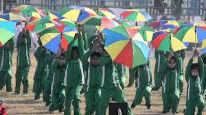 Sports Day 2011 Umbrella Drill Youtube