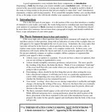 cover letter template for argumentative essay introduction writing