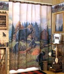 Cottage Shower Curtains Cabin Themed Shower Curtain Hooks Log Cabin Shower Curtain Hooks