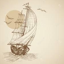 vintage sailboat royalty free cliparts vectors and stock