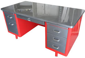 Antique Office Furniture For Sale by Vintage Tanker Desks Stainless Steel Furniture Used Metal