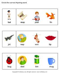 identify words that rhyme worksheet turtle diary