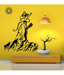 hoopoe decor lord rama with sun wall sticker buy hoopoe decor