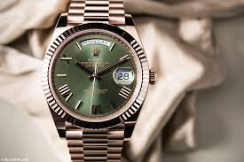 the new 60th anniversary rolex day date 40 that isn t an