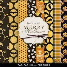 Halloween Printable Paper by Scrapbooking Tammytags Tt Designer Far Far Hill Tt Item