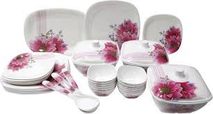 fortune pack of 34 dinner set price in india buy fortune pack of