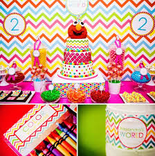 elmo birthday party a girlie elmo birthday party best birthday party ideas for