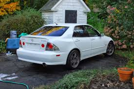 lexus is300 tuned lexus is300 kosei k1 racing ts jante jantes rim rims