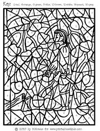 mosaic coloring pages number bltidm
