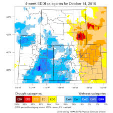 Map Of Wyoming And Colorado by Wyoming State Climate Office Drought Outlooks 20 Oct 2016