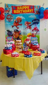 paw patrol candy table ideas paw patrol candy table candy tables pinterest paw patrol