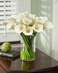 Silk Calla Lilies Amazon Com Calla Lily Extravaganza Silk Arrangement Artificial