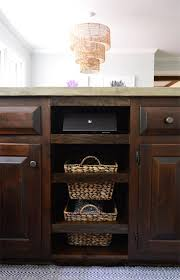 Pull Out Baskets For Kitchen Cabinets by Adding Diyed Pull Out Basket Drawers In The Kitchen Young House Love