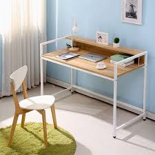 compact computer desk wood simple desktop computer desk home office desk wood desk study tables