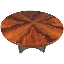 modern cocktail tables swedish art deco crotch mahogany coffee table dated 1940 at 1stdibs