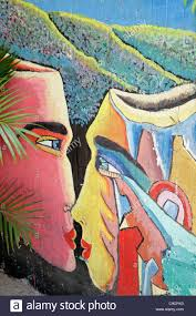 mural wall painting nicaragua stock photos mural wall painting managua nicaragua bolonia wall mural restaurant painting art faces kissing colorful abstract stock image