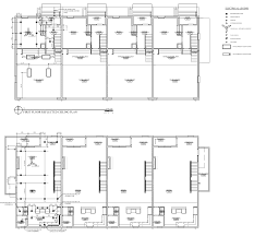 architectural floor plans and elevations floor plans and elevations 37hundred luxury townhomes new orleans