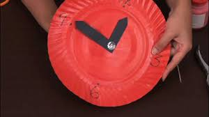 11 how to make a paper clock arts and crafts youtube