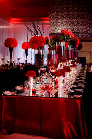 red wedding table decorations ideas decorating of party