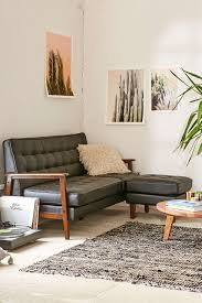 Vegan Leather Sofa Cbell Vegan Leather Sectional Outfitters Uohome