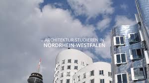 design studium nrw architektur studieren in nordrhein westfalen bachelor und master
