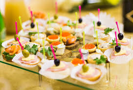 Cocktail Party Reception - cocktail party with snacks stock photo image 69386941