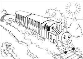 20 kleurplaten thomas trein images 2nd